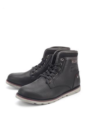 Ботинки Patrick. Цвет: черный