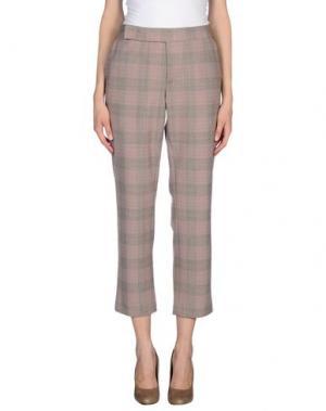Повседневные брюки THAKOON. Цвет: телесный