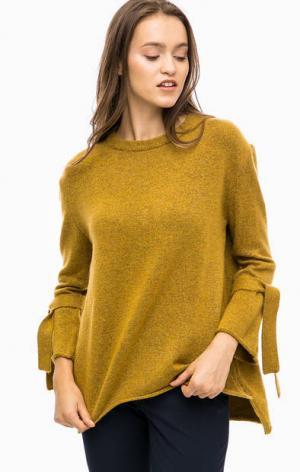 Туника-джемпер с расклешенными рукавами MORE &. Цвет: желтый