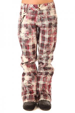 Штаны сноубордические женские  Brookside Pant Redwood Oakley. Цвет: мультиколор
