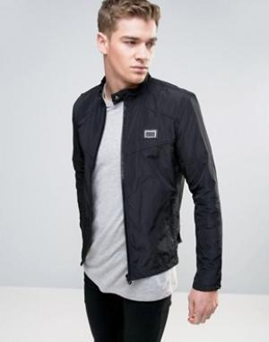 Born Rich Байкерская куртка. Цвет: черный