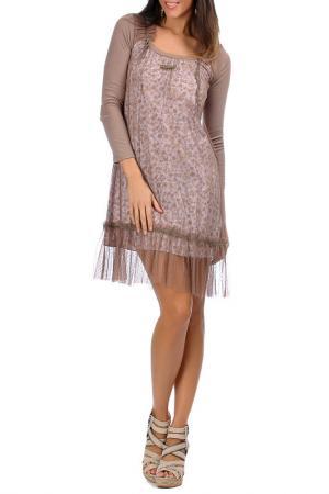 Платье Laklook. Цвет: мультицвет