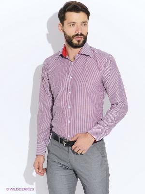 Рубашка LIVANSO. Цвет: красный