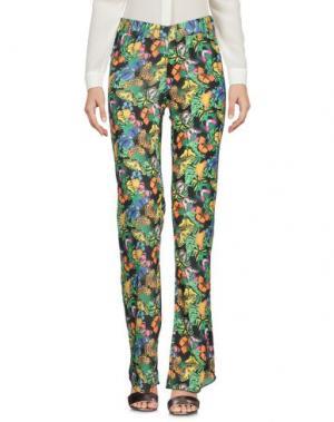 Повседневные брюки 4GIVENESS. Цвет: зеленый