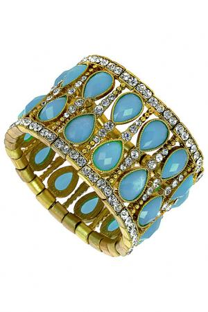 Браслет Rendez-vous. Цвет: golden and turquoise