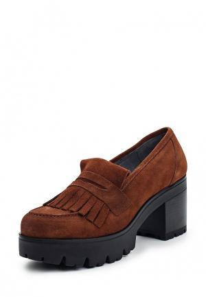 Туфли Oxigeno. Цвет: коричневый
