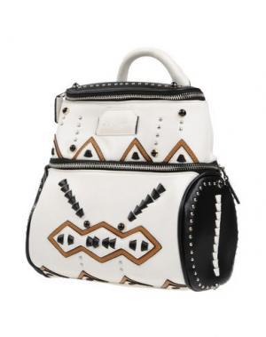 Рюкзаки и сумки на пояс LA CARRIE BAG. Цвет: белый