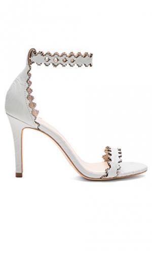 Обувь на каблуке Zimmermann. Цвет: нежно-голубой
