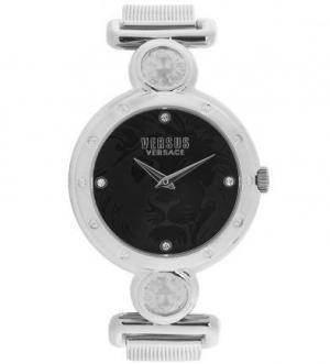 Часы с серебристым металлическим браслетом VERSUS