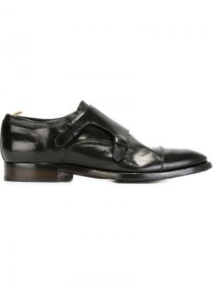 Туфли-монки Princeton Officine Creative. Цвет: чёрный