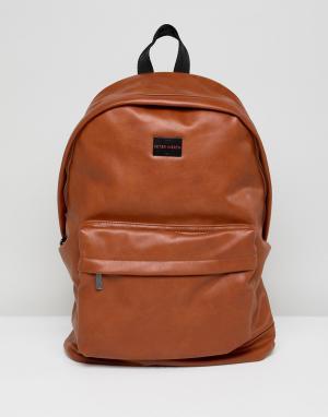 Peter Werth Светло-коричневый рюкзак. Цвет: рыжий