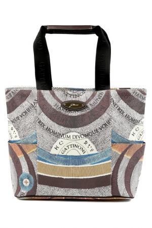 Bag Gattinoni. Цвет: white brown, blue