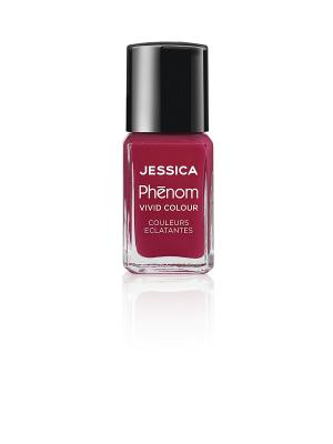Phenom Цветное покрытие Vivid Colour Parisian Passion № 19, 15 мл JESSICA. Цвет: малиновый