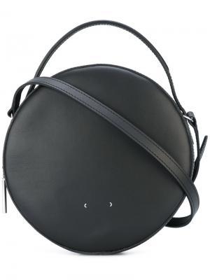 Круглая сумка через плечо Pb 0110. Цвет: чёрный