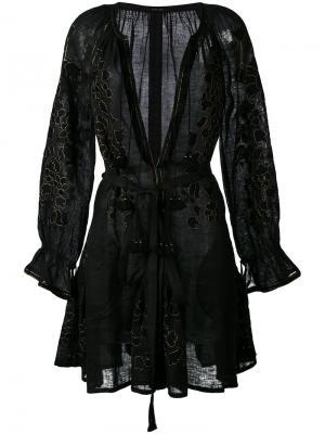 Короткое платье Vita Kin. Цвет: чёрный