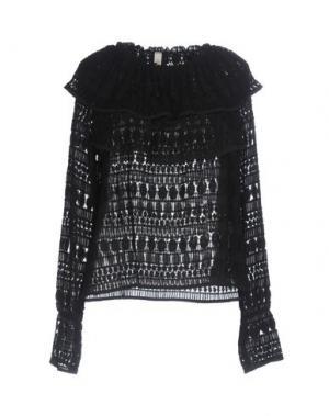 Блузка SOUVENIR. Цвет: черный