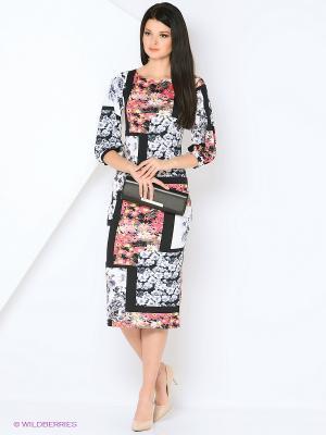 Платье с широким рукавом ADZHEDO