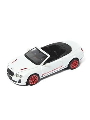 Машина металлическая Bentley Continental GT Supersport Coupe HOFFMANN. Цвет: белый