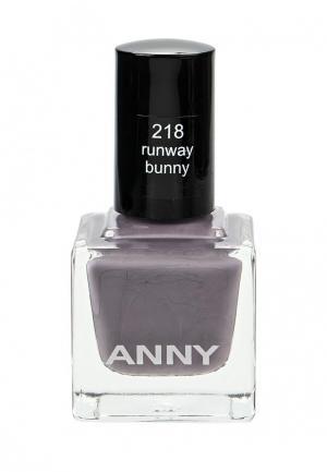 Лак для ногтей Anny. Цвет: фиолетовый