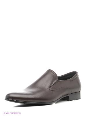 Туфли Premier. Цвет: темно-коричневый