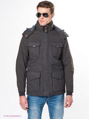 Куртка Salewa. Цвет: темно-серый