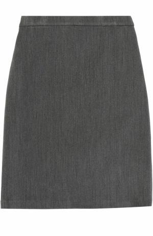 Юбка-карандаш с разрезом Caf. Цвет: серый
