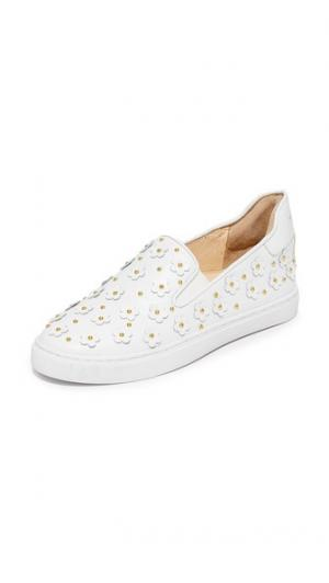 Кроссовки без шнурков Taylor Isa Tapia. Цвет: белый