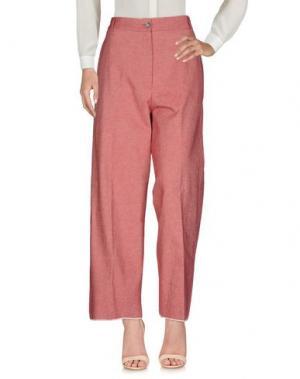 Повседневные брюки DANIELA PANCHERI. Цвет: красный