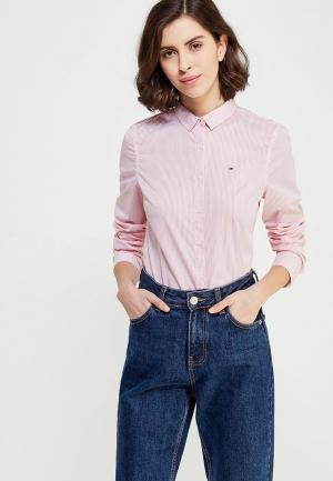 Блуза Tommy Jeans. Цвет: розовый