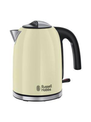 Чайник Colours Plus Classic Cream 20415-70 Russell Hobbs. Цвет: бежевый