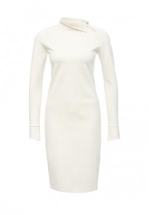 Платье Firkant. Цвет: белый