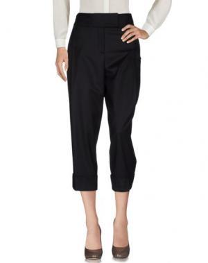 Повседневные брюки SALVATORE FERRAGAMO. Цвет: темно-коричневый