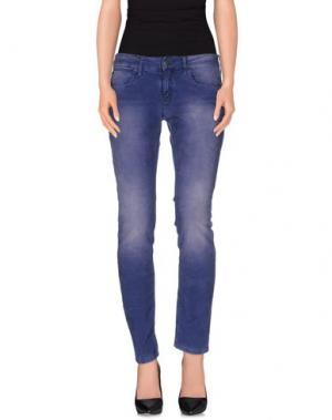 Повседневные брюки DRYKORN. Цвет: синий
