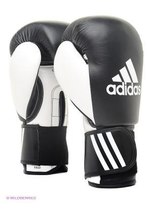 Перчатки боксерские Performer Adidas. Цвет: черный