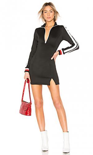 Платье Pam & Gela. Цвет: черный