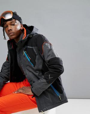Killtec Лыжная куртка с капюшоном Senor. Цвет: серый