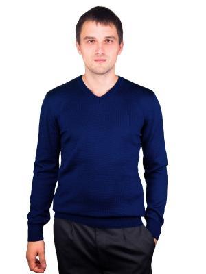Пуловер CASINO. Цвет: индиго