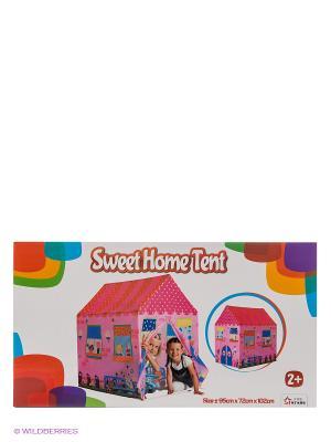 Игровая палатка Милый Дом Five Stars. Цвет: розовый