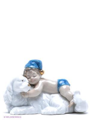 Фигурка Празднуем вместе Pavone. Цвет: светло-серый, белый, синий