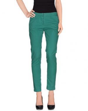 Повседневные брюки PERFECTION. Цвет: зеленый