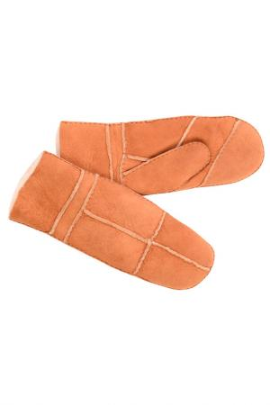 Варежки Laccom. Цвет: коричневый
