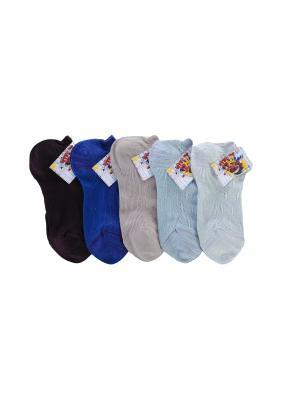 Носки ЕСКО. Цвет: синий, серо-голубой, фиолетовый