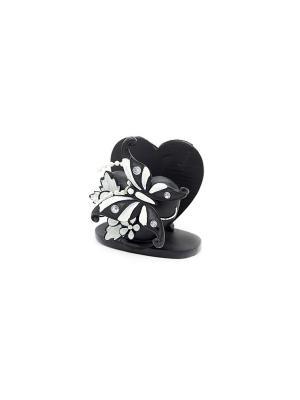 Бабочка визитница Elff Ceramics. Цвет: белый, черный