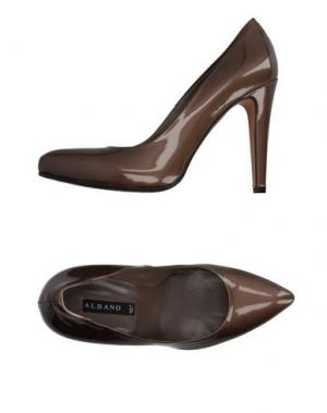 Туфли ALBANO. Цвет: бронзовый