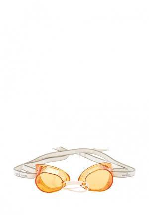 Очки для плавания MadWave. Цвет: оранжевый