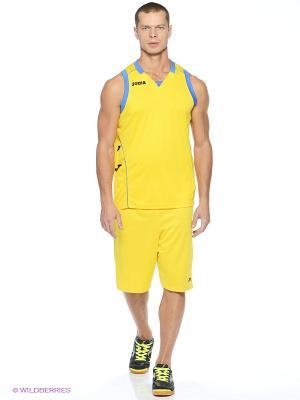 Майка спортивная Joma. Цвет: желтый