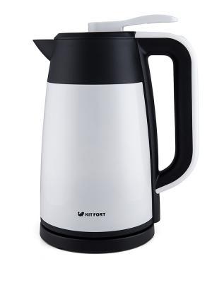 Чайник Vacuum Edition КТ-620-1 Kitfort. Цвет: белый