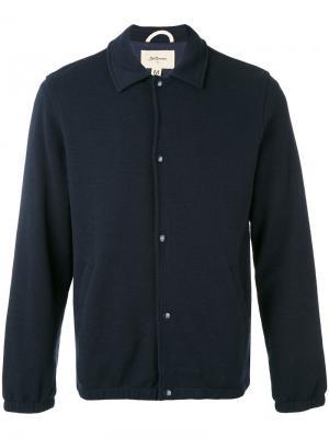 Саржевый пиджак Bellerose. Цвет: синий