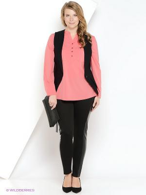 Леггинсы Milana Style. Цвет: черный