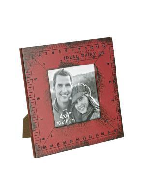 Рамка для фотографий RIGHELLO 17X17 Bizzotto. Цвет: красный